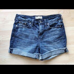 MADEWELL boyfriend shorts